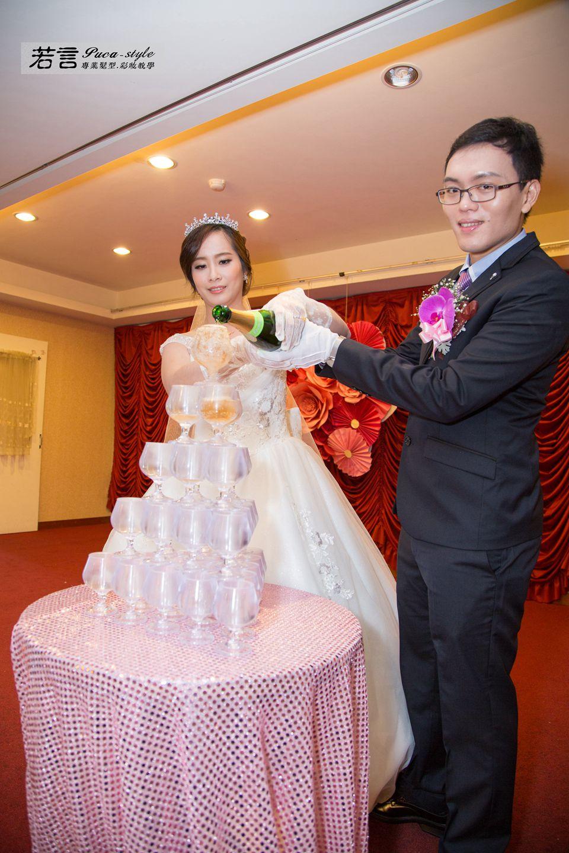南臺灣新娘秘書韓式(噴槍)新秘團隊(編號:544956) - 若言新娘祕書韓式妝髮/新秘教學創意團隊 - 結婚吧