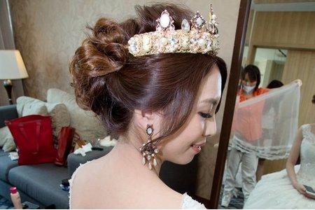 新娘奕潔結婚宴
