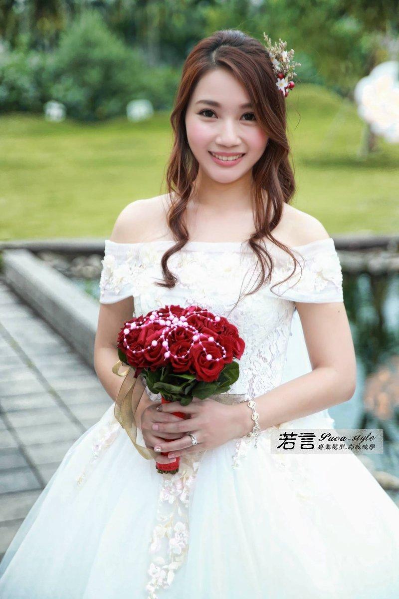 新娘秘書單妝髮作品
