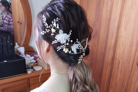 新娘(雨瑱)結婚宴--噴槍底妝/陶瓷妝感