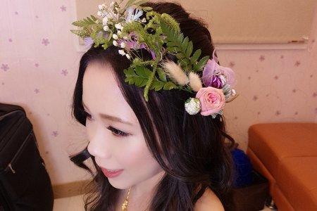 新娘(千綺)婚宴-噴槍底妝/陶瓷妝感