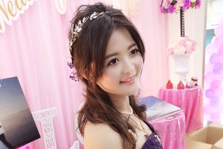 新娘(芳瑜)婚宴-噴槍底妝/陶瓷妝感