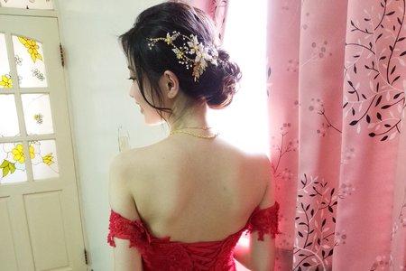 新娘(可兒)婚宴-噴槍底妝/陶瓷妝感