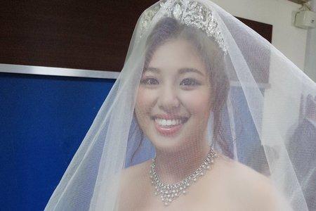 新娘(雲萱)婚宴-噴槍底妝/陶瓷妝感