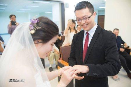 新娘(彥如) ~公證結婚