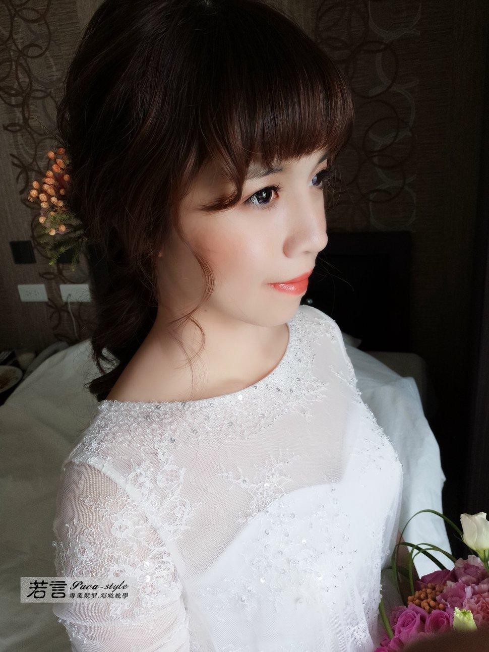 IMG_20181020_091439 - 若言造型團隊-噴槍底妝/陶瓷妝感《結婚吧》