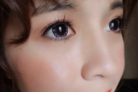 新娘(欣唐)婚宴-日式娃娃眼妝 +韓式低馬尾
