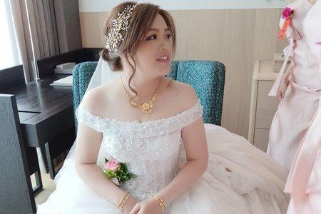 韓式花飾 鑽石