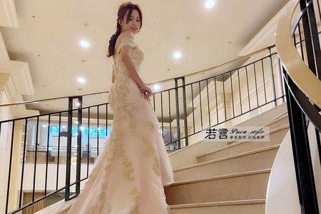 新娘(嘟嘟)婚宴-二進造型
