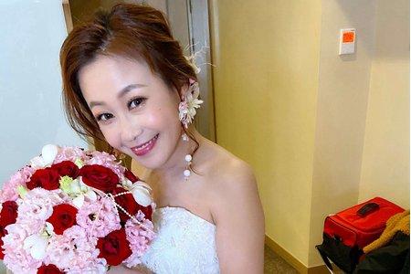 新娘(貝兒)婚宴-白紗造型