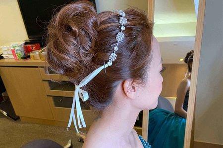 新娘(貝兒)婚宴-送客造型