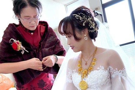 新娘(方潞)婚宴-白紗造型