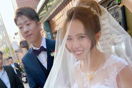 新娘(雅喬)婚宴-白紗造型