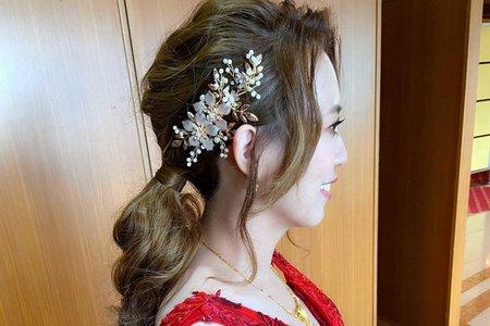 新娘(雅喬)婚宴-敬酒造型