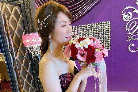 新娘(花兒)婚宴-送客造型