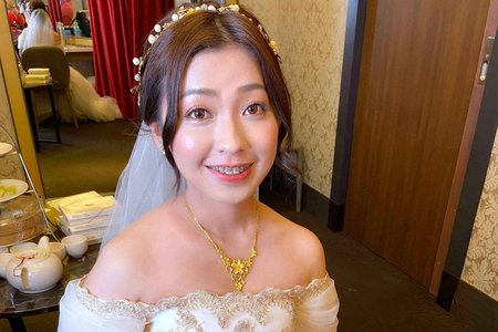 新娘(旻妤)婚宴-迎娶造型