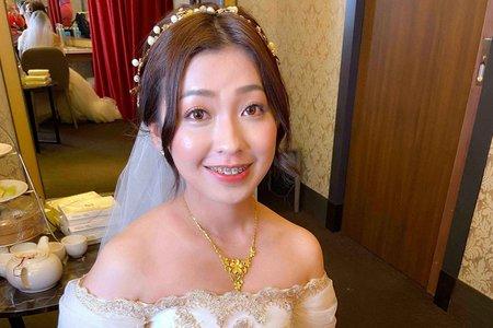 新娘(旻妤)婚宴-白紗造型