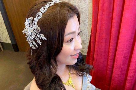新娘(旻妤)婚宴-宴客造型
