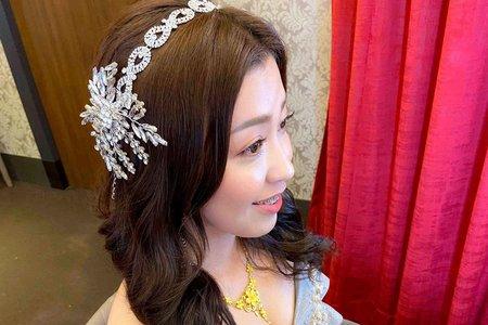 新娘(旻妤)婚宴-送客造型