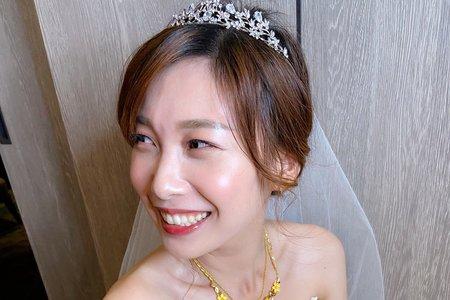 新娘(小燕)婚宴-白紗造型
