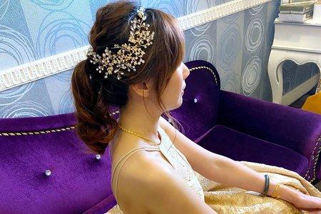 新娘(小燕)婚宴-二進造型