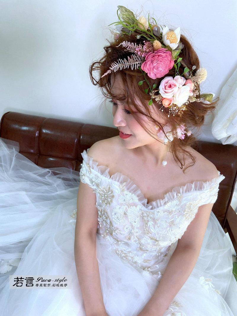 訂婚/結婚 單妝髮造型作品