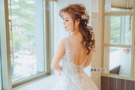 白紗造型-浪漫唯美風