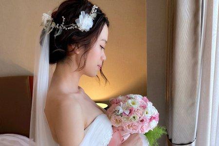 韓式盤髮-迎娶造型