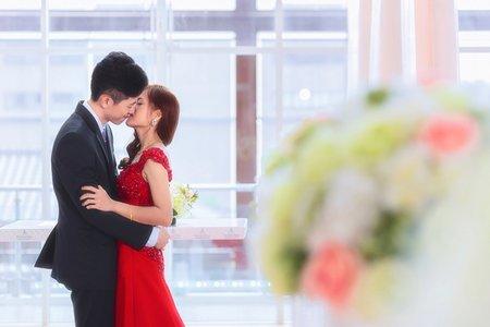 桃園桃禧航空城 [明偉 & 海柔] 文定婚宴 / 婚攝KK