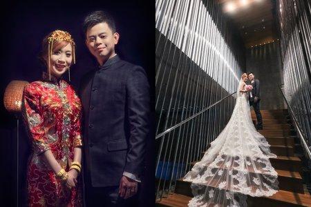 台北W飯店  [ Steven & Electra ] 迎娶婚宴