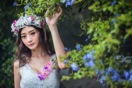 愛麗絲仙境之花藝新娘