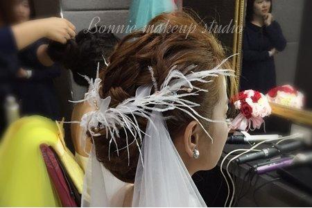 桃園新秘-仙女風白紗