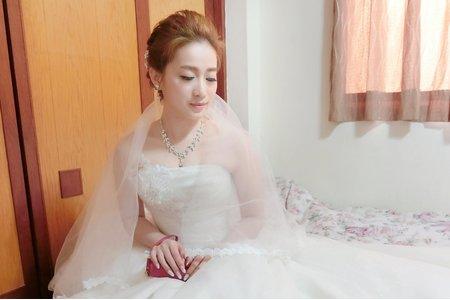 桃園新秘-氣質女神白紗作品
