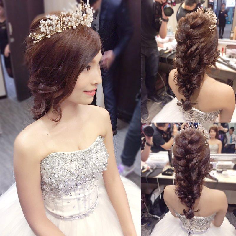 新娘造型單妝髮服務作品