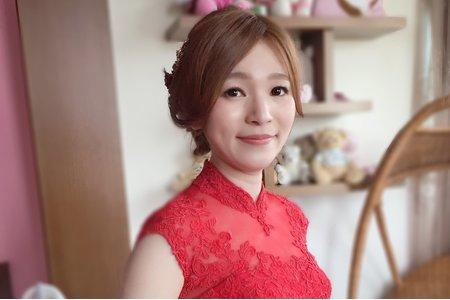韓風優雅低盤髮婚宴日