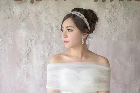 公主白紗造型