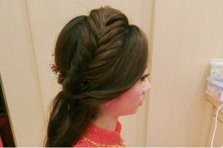 送客編髮造型
