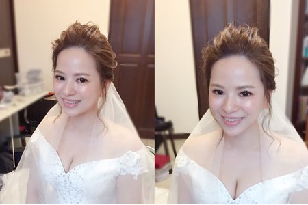 婚禮當日韓風造型(透亮光澤肌)