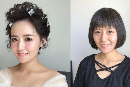 黑短髮妹妹頭~素人改造
