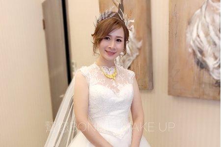 婚禮日女神進場造型-桃園川門子婚宴會館