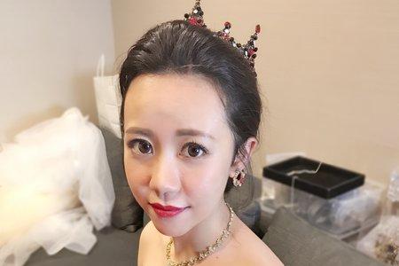 台北新秘(晶華酒店)敬酒公主造型