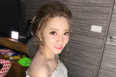 最新迎娶造型(宜蘭新秘明星臉新娘)