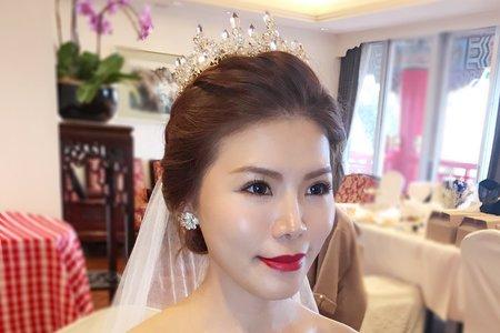 台北新秘-圓山飯店婚禮當日