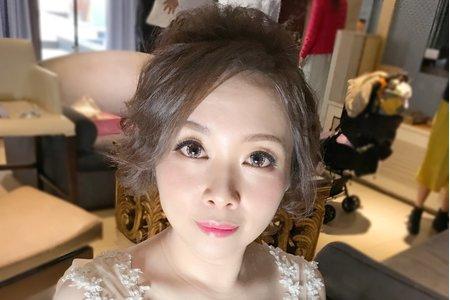 桃園新秘幫您Bonnie(宴客新娘造型)