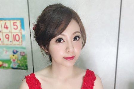 宜蘭文訂日造型/中壢新秘幫您Bonnie/桃園台北新竹宜蘭