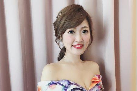 青青風車婚宴日/幫您Bonnie make up/桃園台北新竹宜蘭