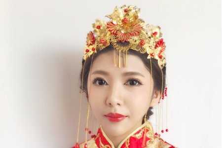 龍鳳掛造型精選 新秘幫您Bonnie/桃園/台北/宜蘭/新竹