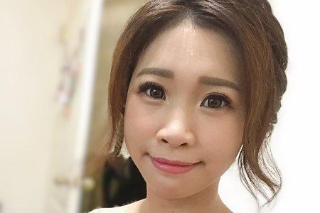 12/23中壢新秘文訂造型幫您Bonnie make up