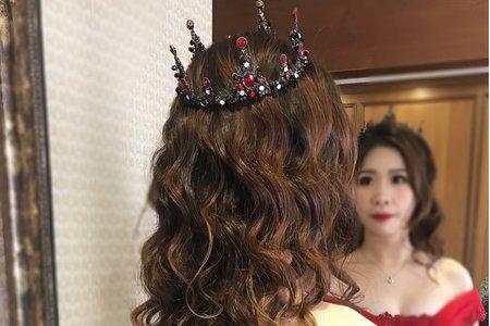 12/23花田盛事婚宴日浪漫送客造型