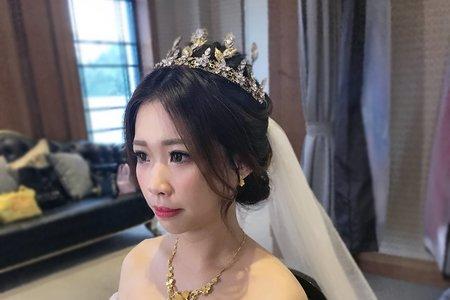 12/23中壢花田盛事婚宴日進場造型